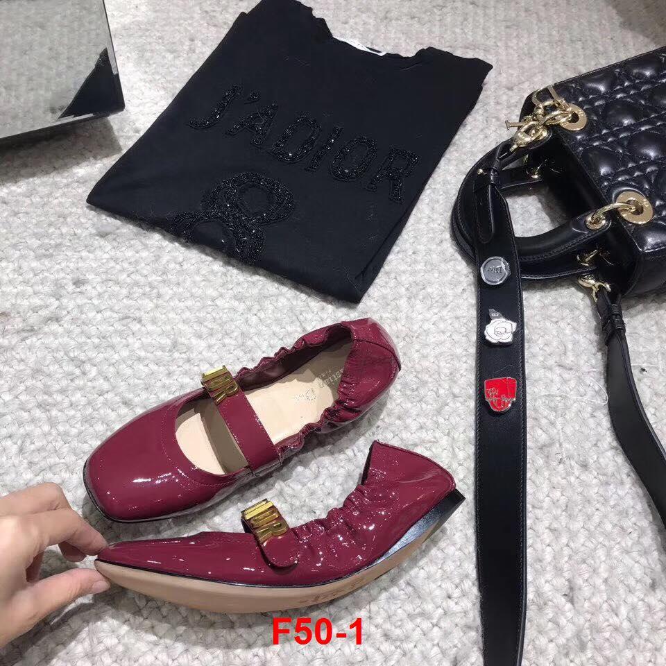 F50-1 Dior giày bệt chun siêu cấp