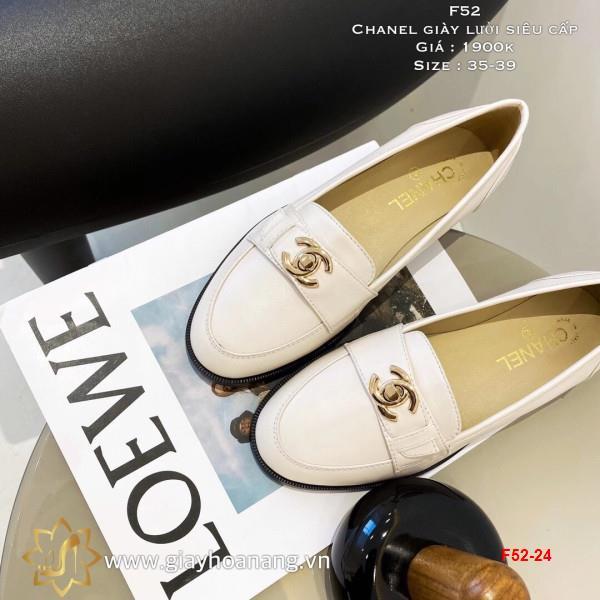 F52-24 Chanel giày lười siêu cấp