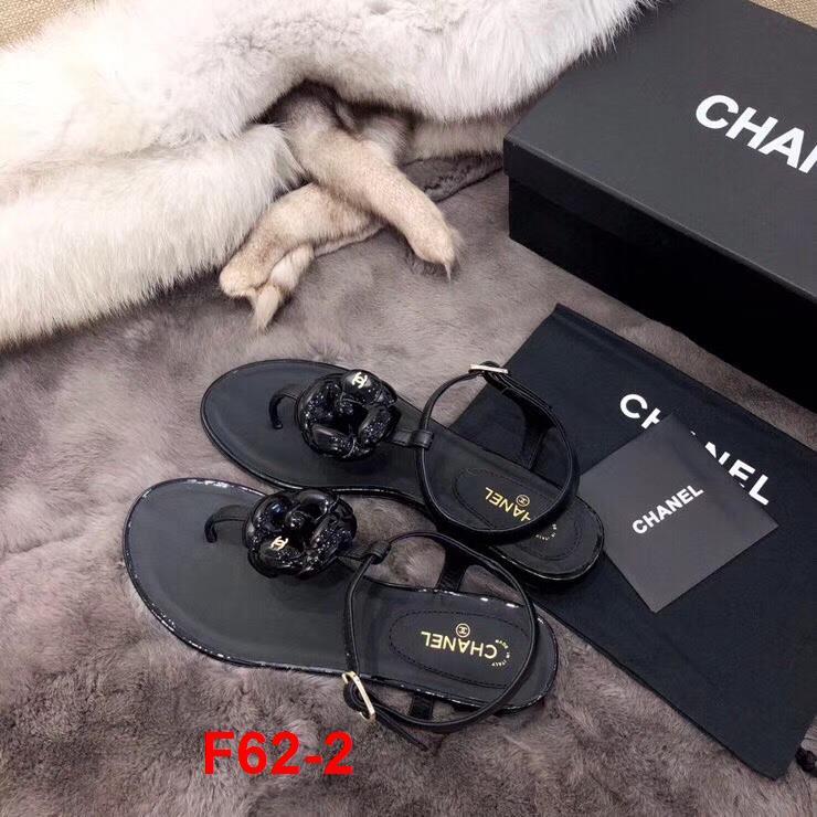 F62-2 Chanel sandal bệt siêu cấp