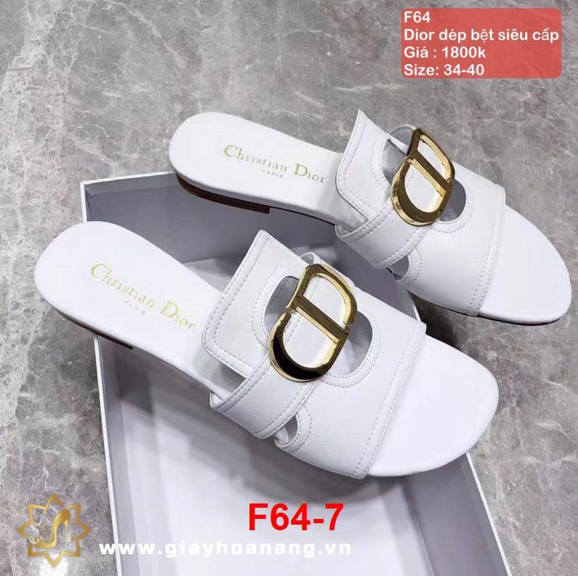 F64-7 Dior dép bệt siêu cấp