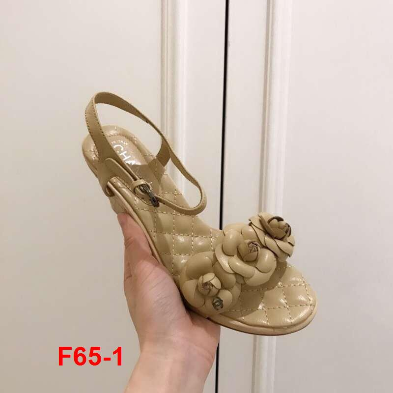 F65-1 Chanel sandal cao 7cm siêu cấp