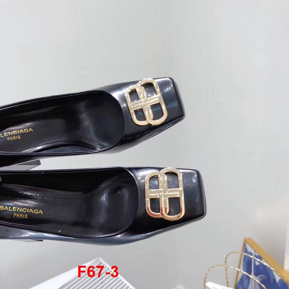 F67-3 Balenciaga giày cao 9cm siêu cấp