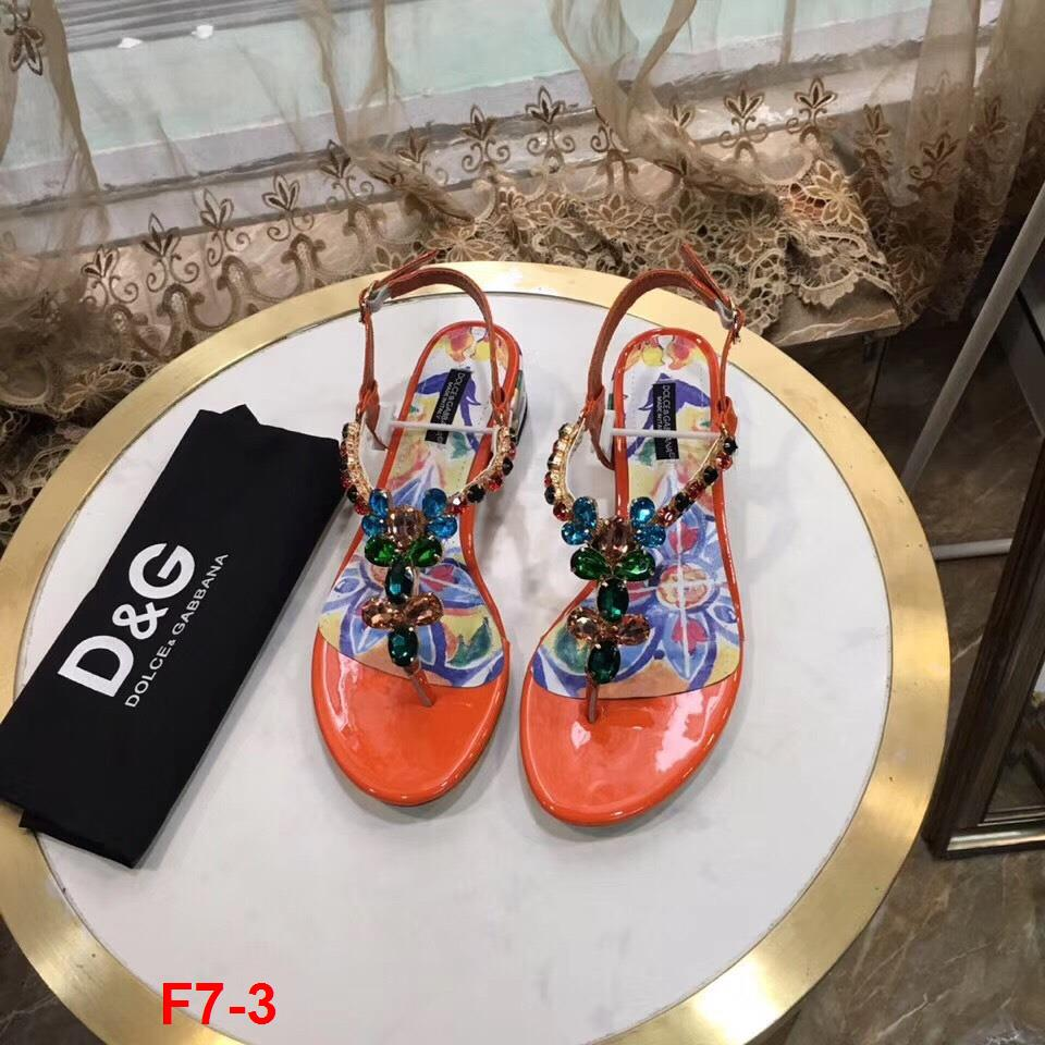 F7-3 Dolce Gabbana sandal cao 4cm siêu cấp