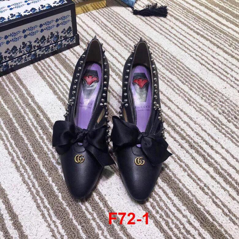 F72-1 Gucci giày cao 4cm siêu cấp