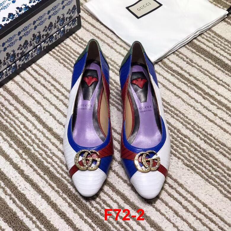 F72-2 Gucci giày cao 4cm siêu cấp