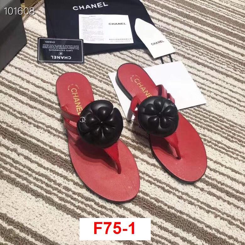 F75-1 Chanel dép bệt siêu cấp