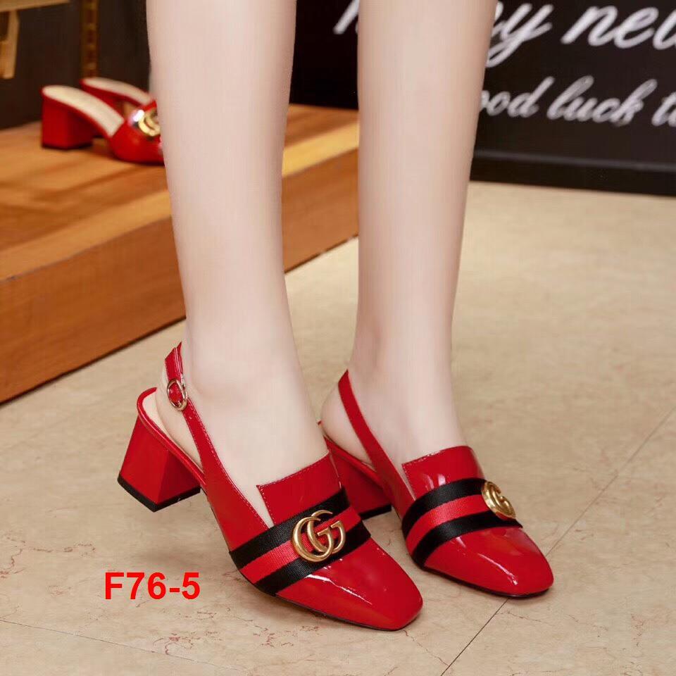 F76-5 Gucci sandal cao 6cm siêu cấp