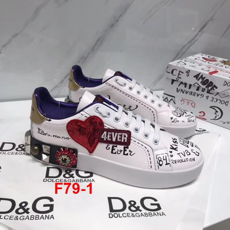 F79-1 Dolce Gabbana giày thể thao siêu cấp