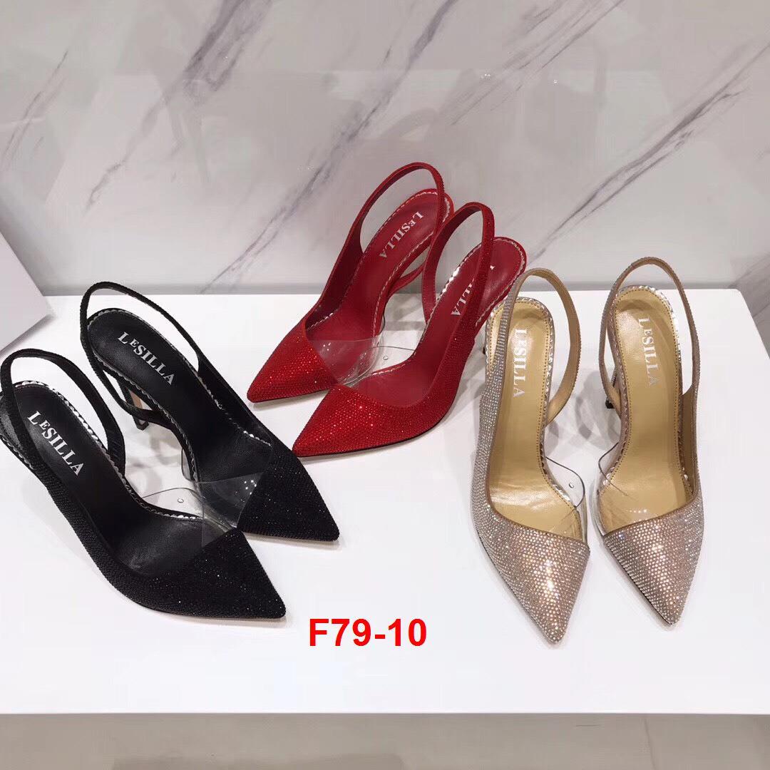 F79-10 Lesilla sandal cao 10cm siêu cấp