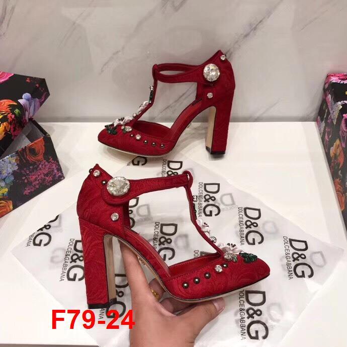 F79-24 Dolce Gabbana sandal cao 10cm siêu cấp