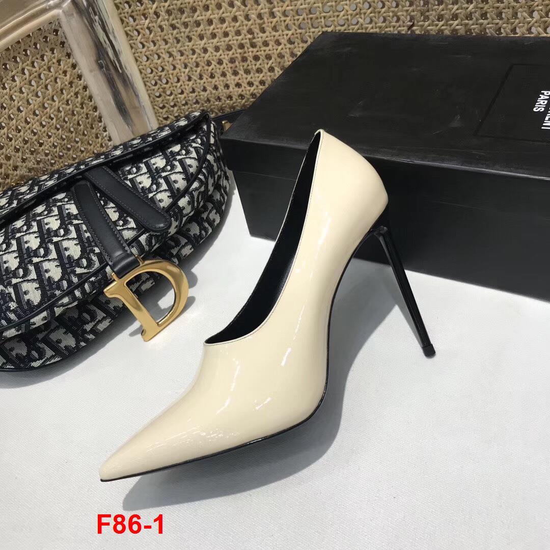 F86-1 Saint Laurent YSL giày cao 11cm siêu cấp
