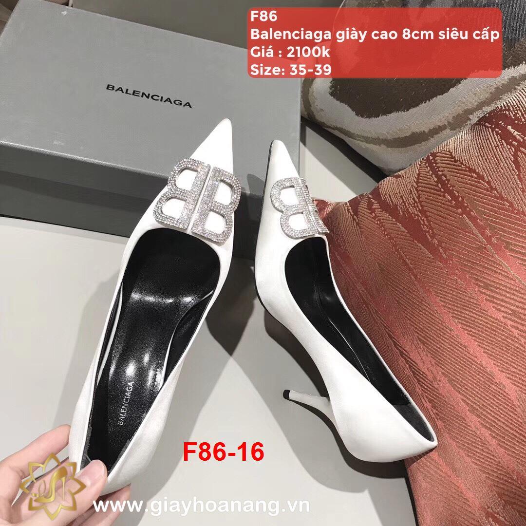 F86-16 Balenciaga giày cao 8cm siêu cấp