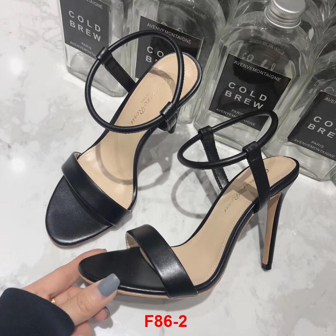 F86-2 Gianvito Rossi sandal cao 10cm siêu cấp