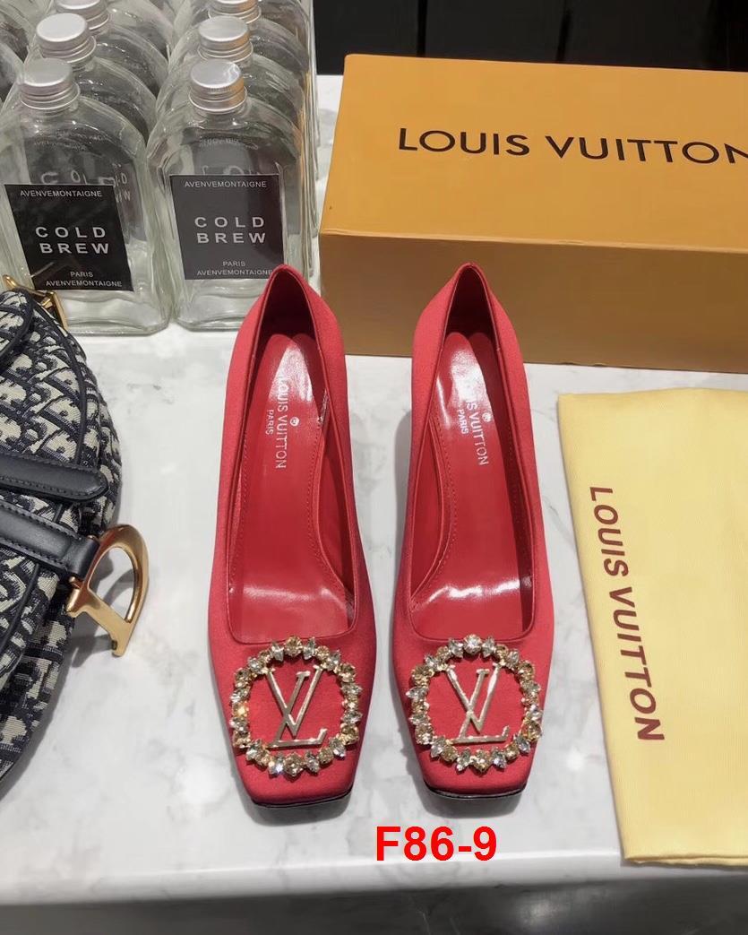 F86-9 Louis Vuitton giày cao 7cm, 2cm siêu cấp