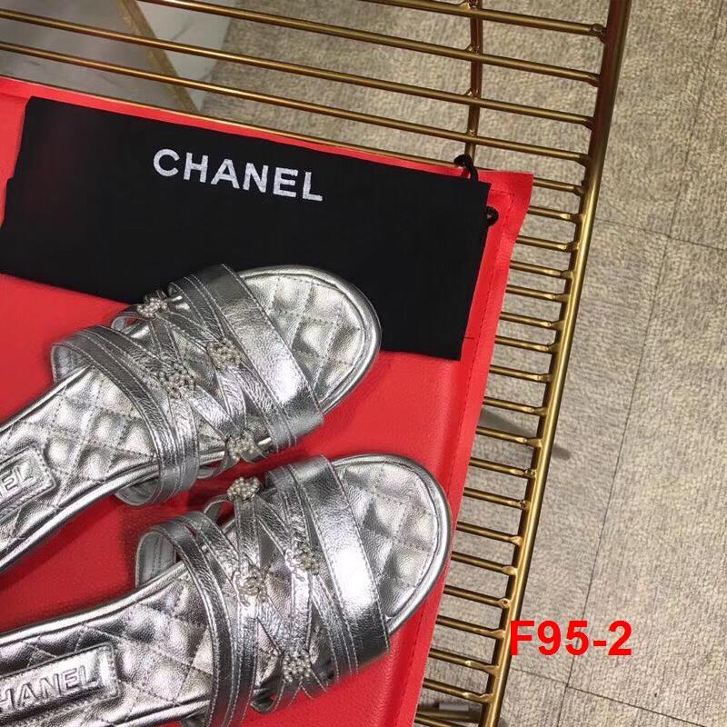 F95-2 Chanel dép bệt siêu cấp