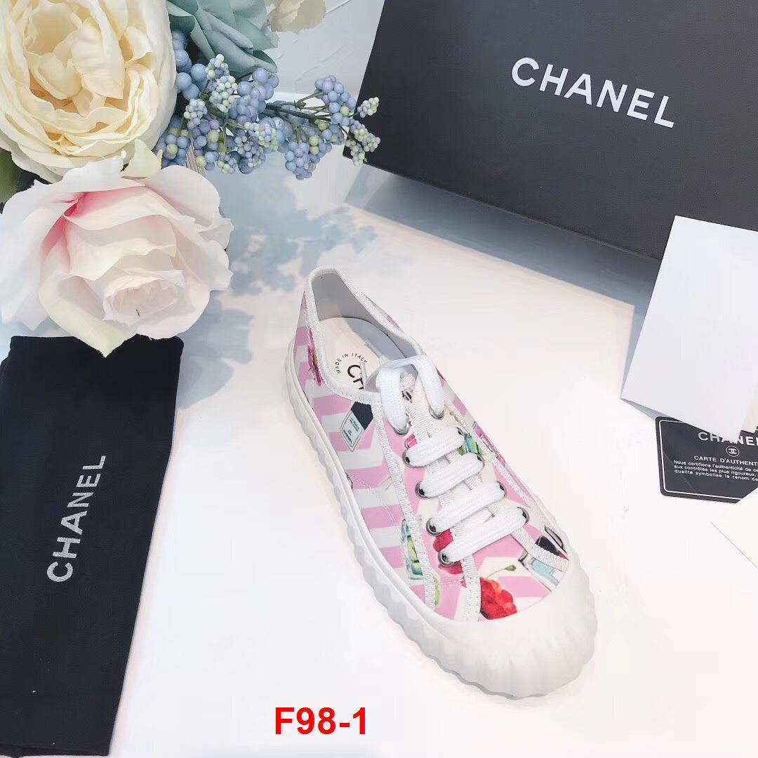 F98-1 Chanel giày thể thao siêu cấp
