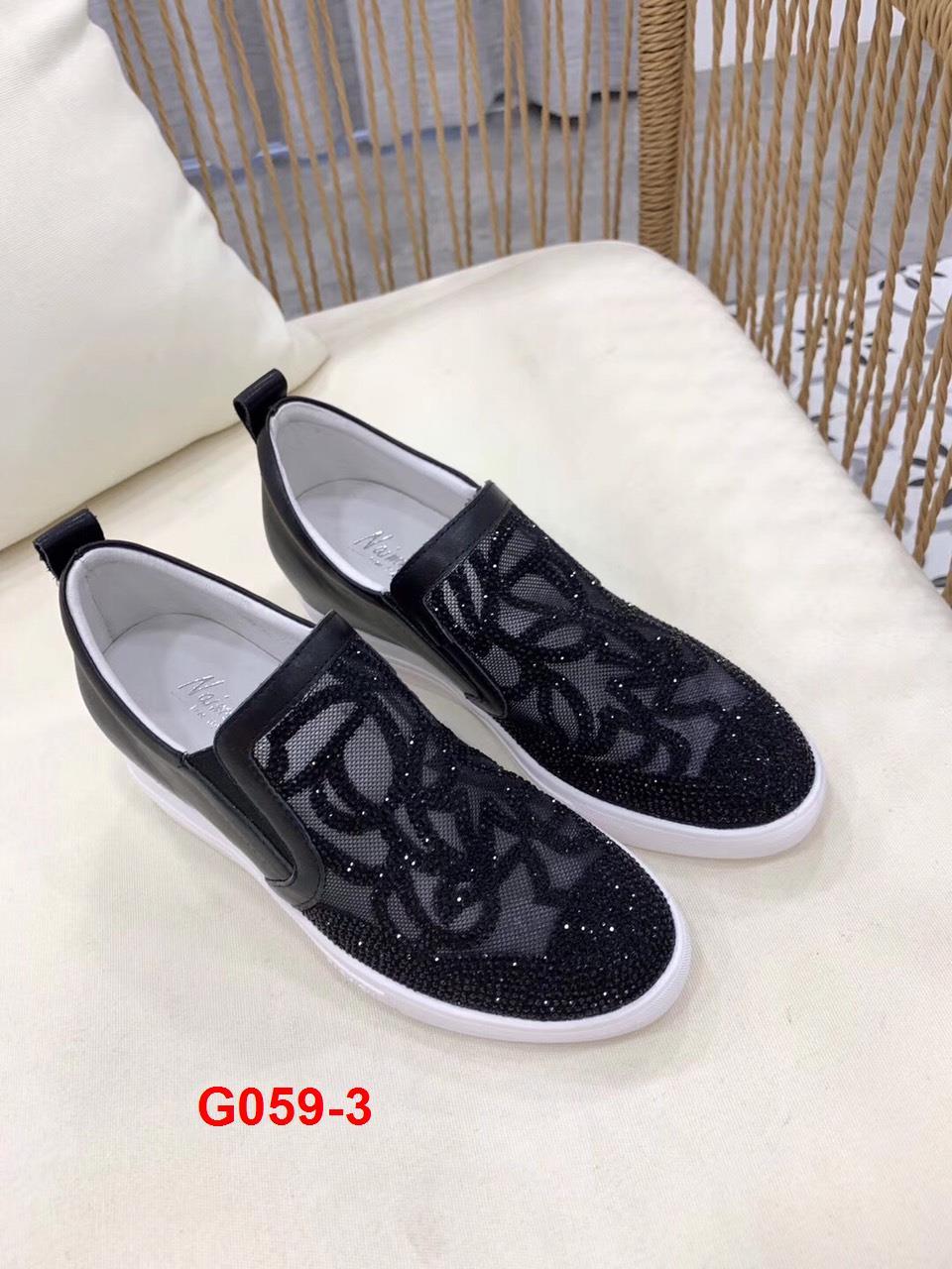 G059-3 HN Hoa Nắng giày độn đế thể thao