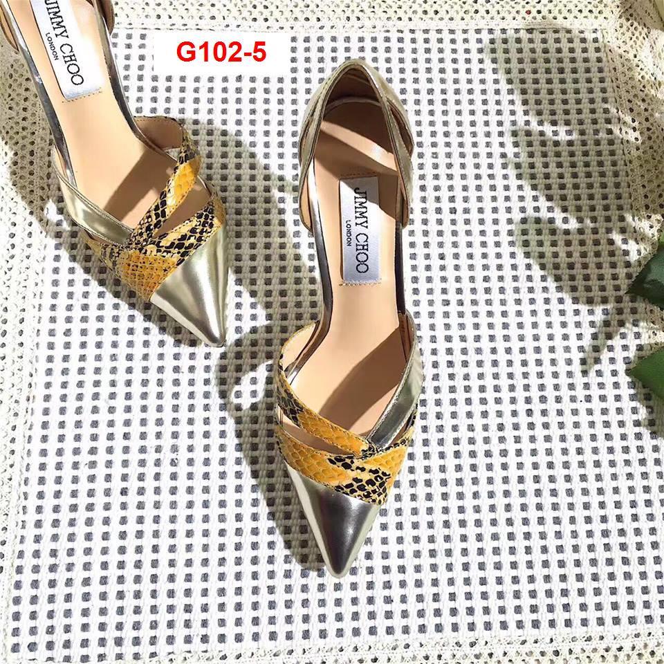 G102-5 Jimmy Choo siêu cấp giày cao 9cm