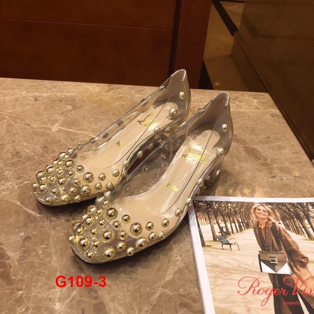 G109-3 Louboutin giày cao 6cm siêu cấp