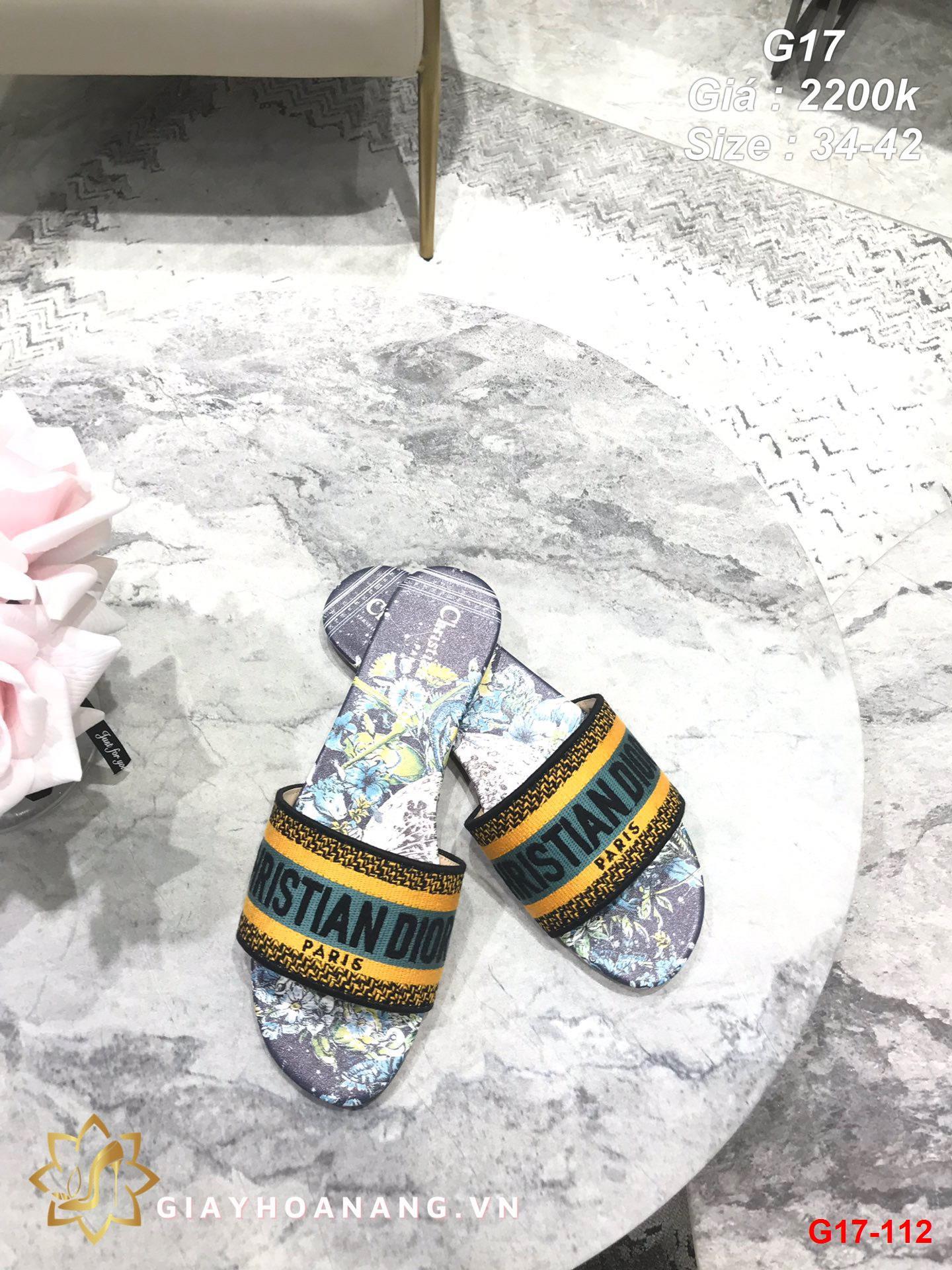 G17-112 Dior dép bệt siêu cấp