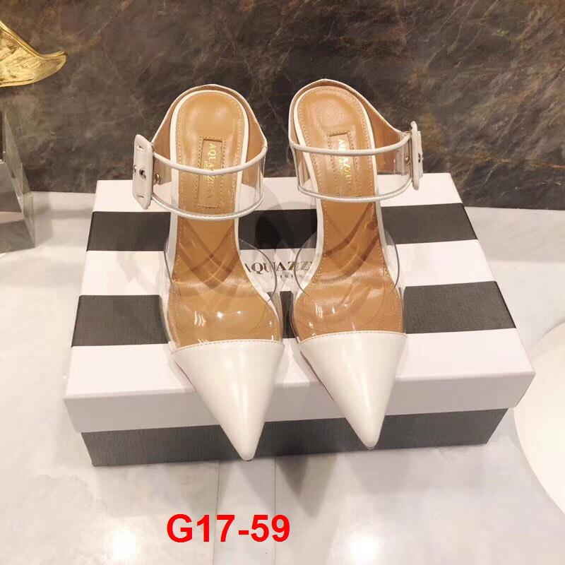 G17-59 Dior sandal cao 6cm siêu cấp