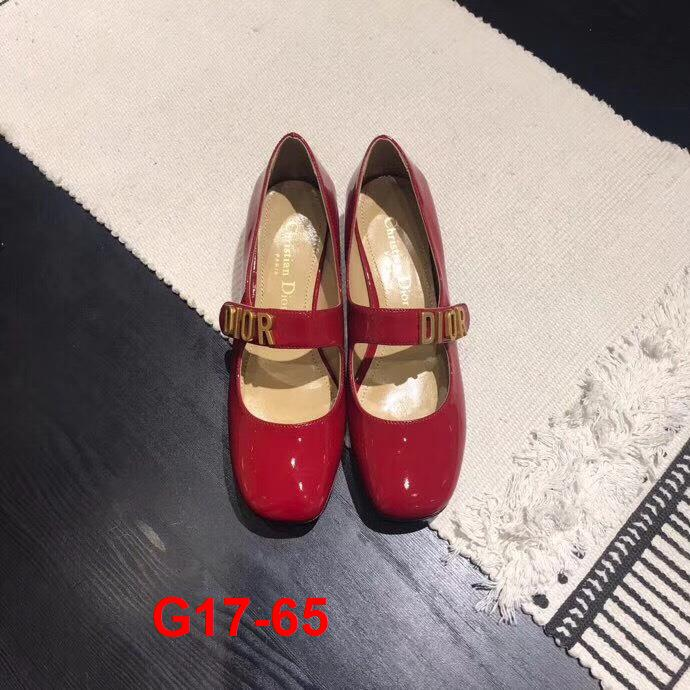 G17-65 Dior giày cao 3cm siêu cấp