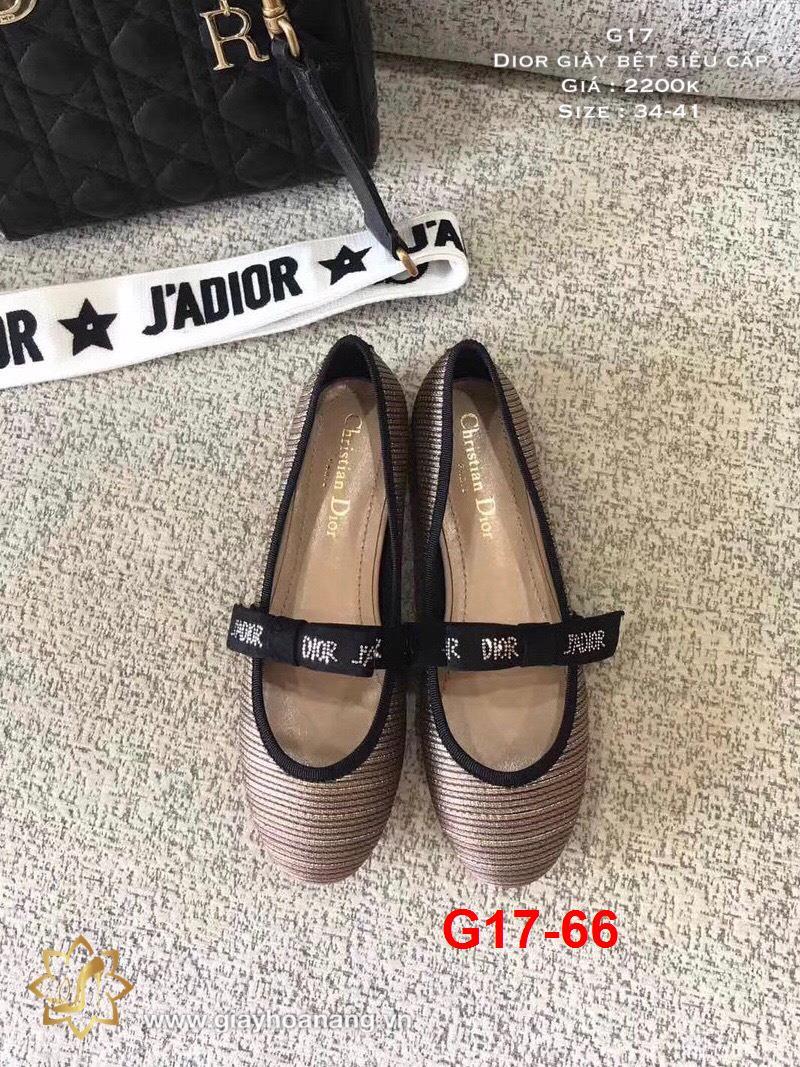 G17-66 Dior giày bệt siêu cấp