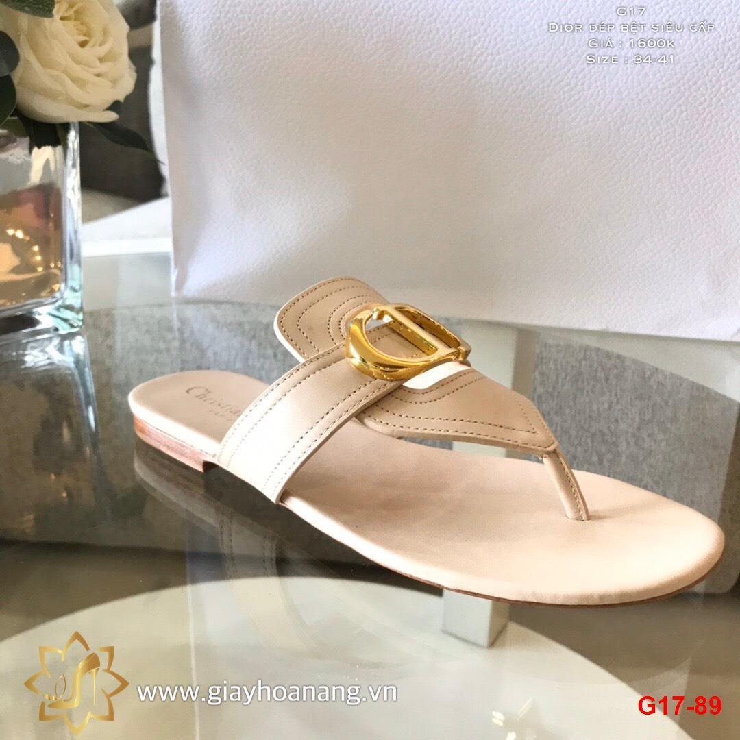 G17-89 Dior dép bệt siêu cấp