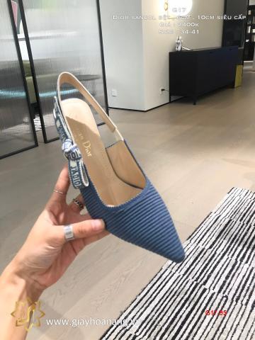 G17-95 Dior sandal bệt , 6cm , 10cm siêu cấp