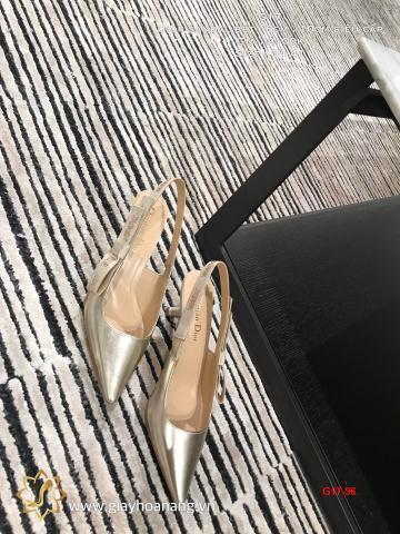 G17-96 Dior sandal bệt , 6cm , 10cm siêu cấp
