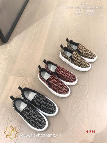 G17-98 Dior giày lười siêu cấp