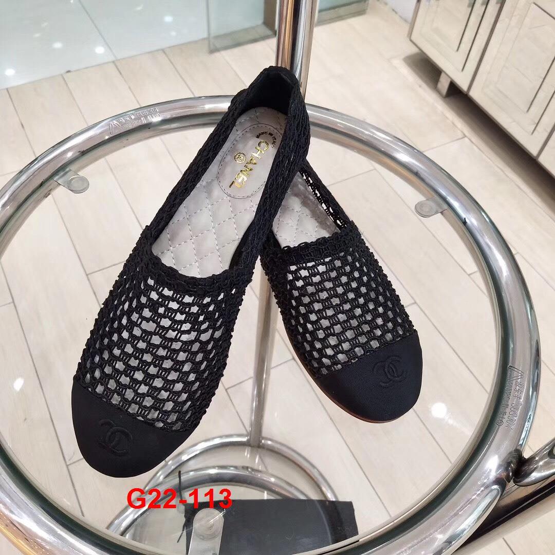 G22-113 Chanel giày lười siêu cấp