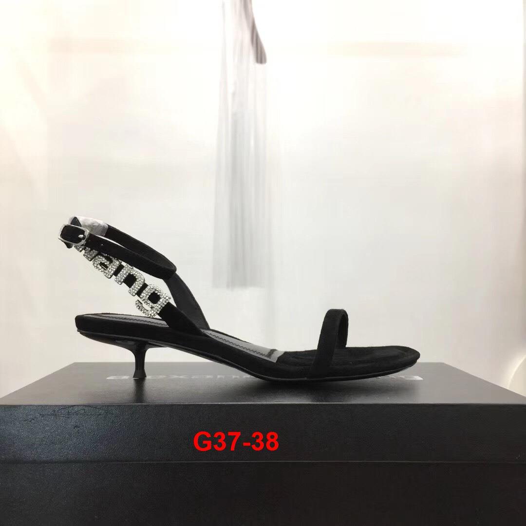 G37-38 Alexander Wang sandal cao 4cm siêu cấp