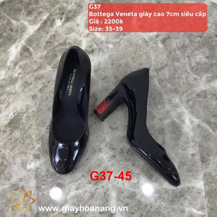 G37-45 Bottega Veneta giày cao 7cm siêu cấp