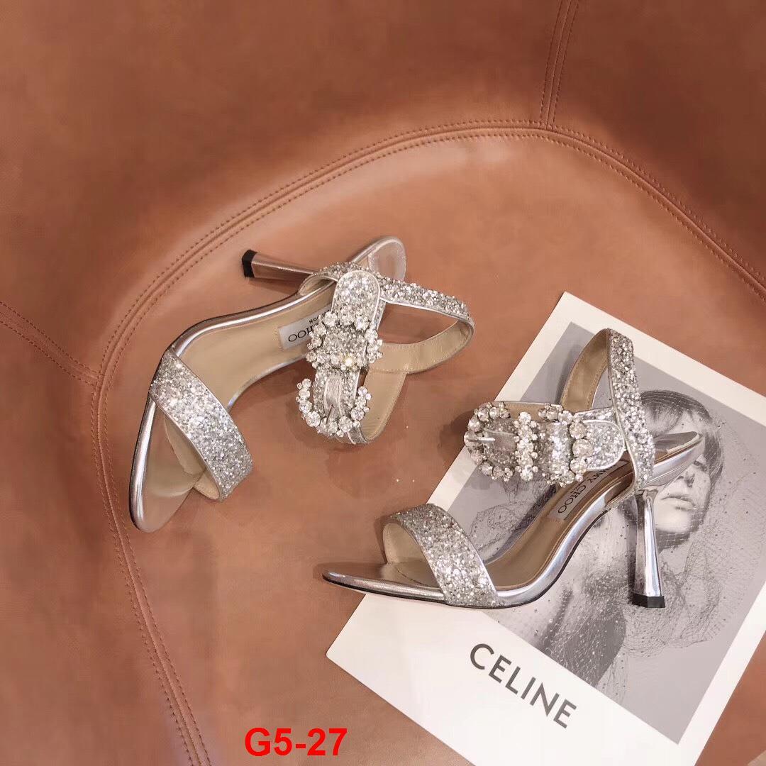 G5-27 Jimmy Choo sandal cao 10cm siêu cấp