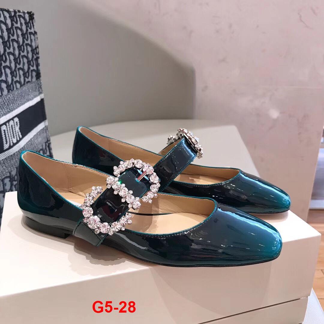 G5-28 Jimmy Choo giày bệt siêu cấp