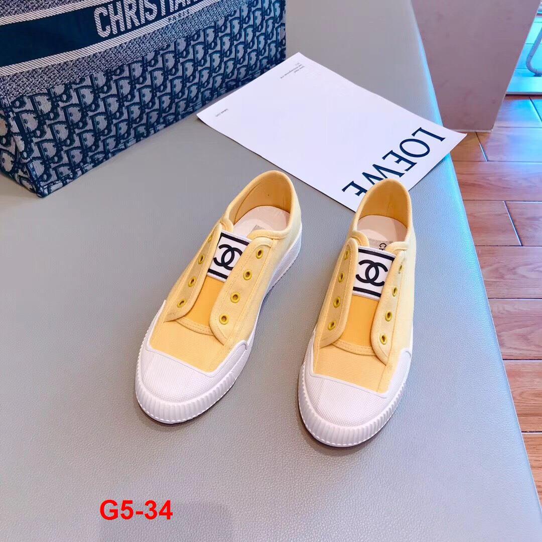 G5-34 Chanel giày thể thao siêu cấp