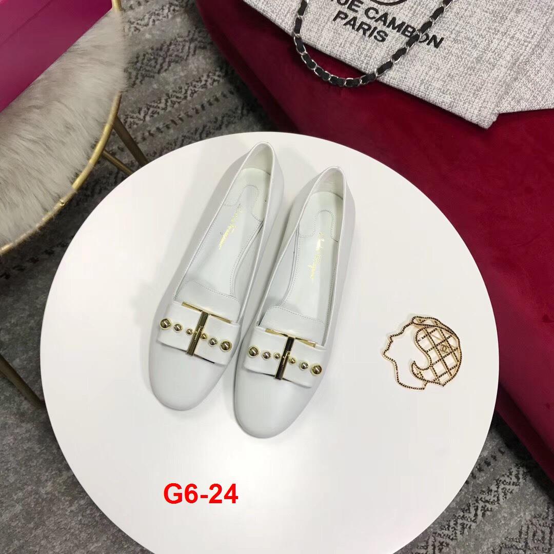 G6-24 Salvatore Ferragamo giày bệt siêu cấp