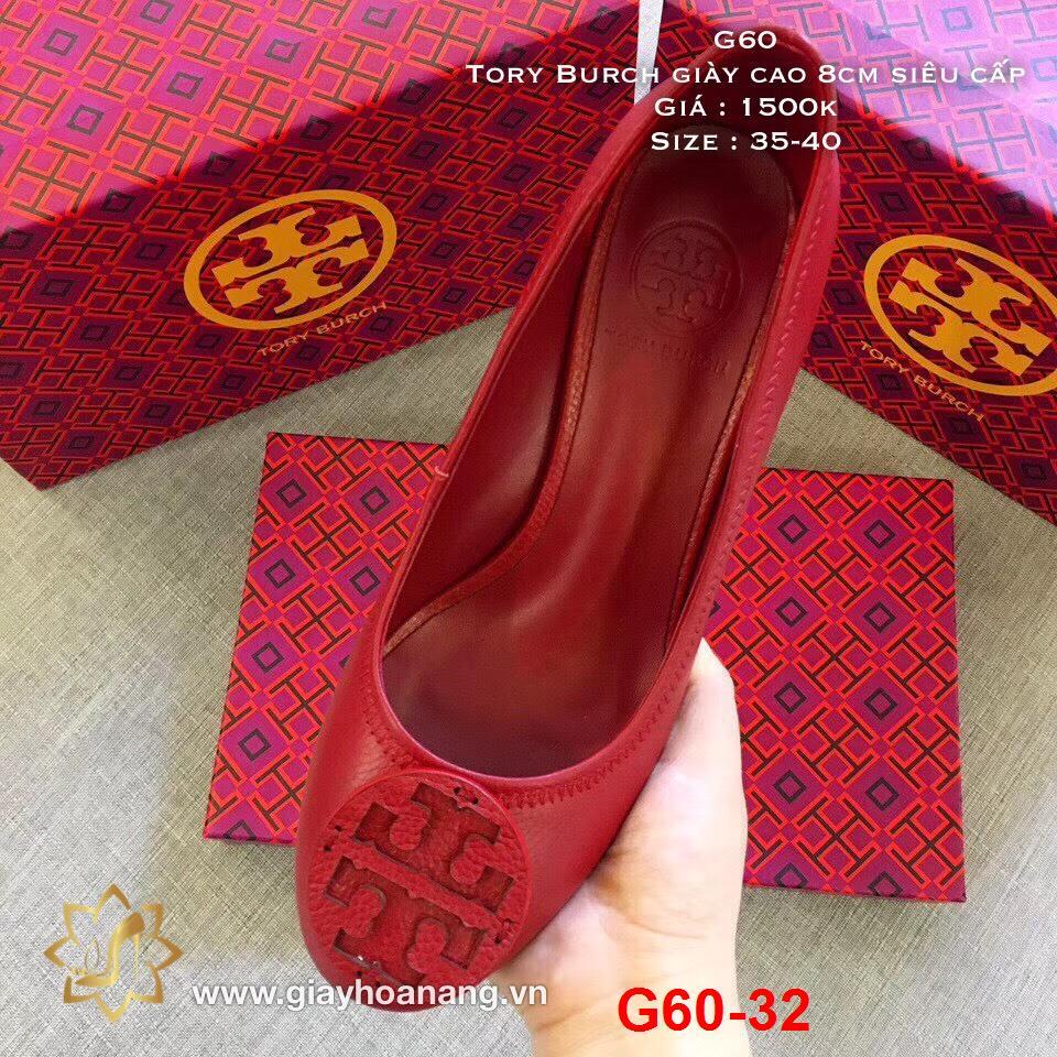 G60-32 Tory Burch giày cao 8cm siêu cấp