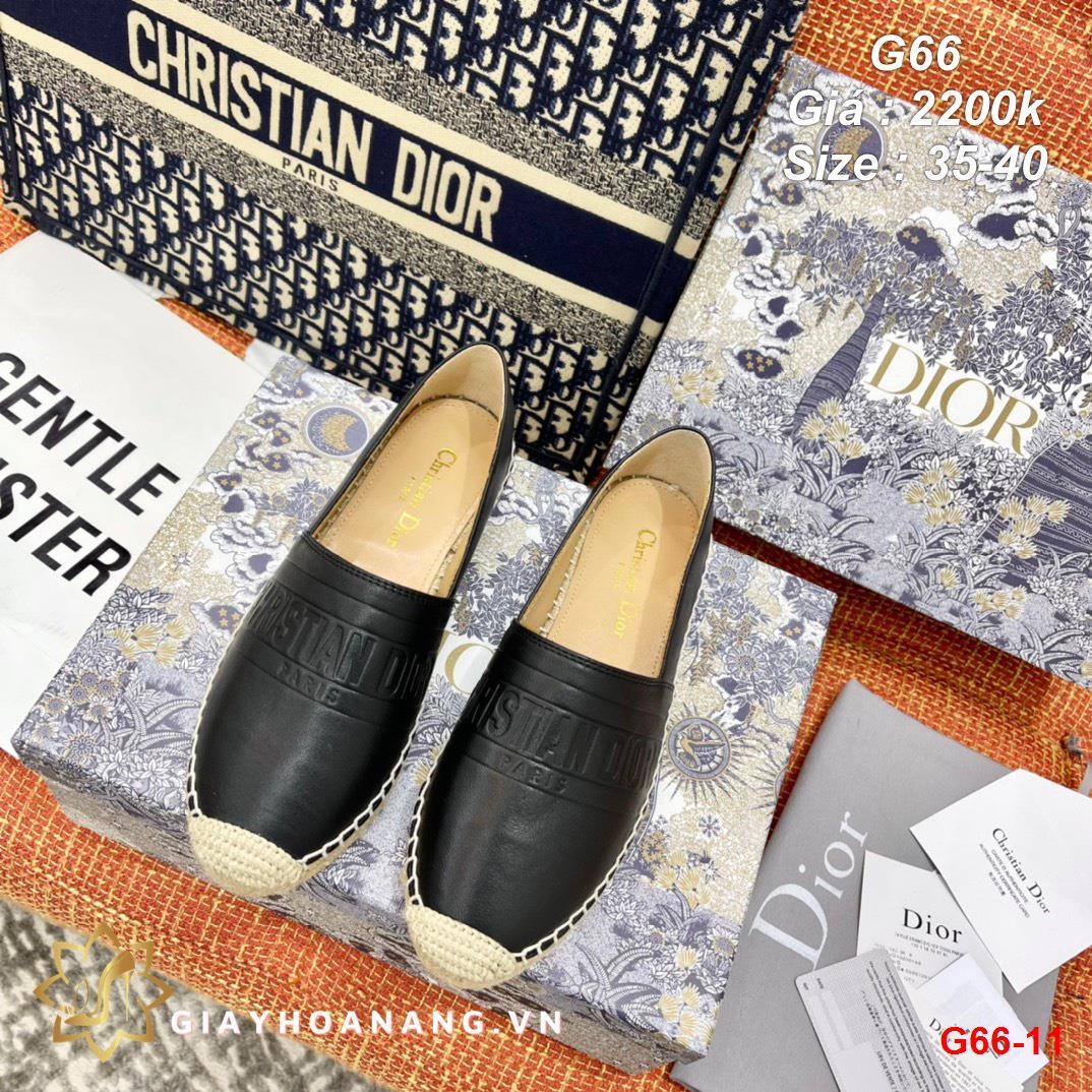 G66-11 Dior giày lười siêu cấp