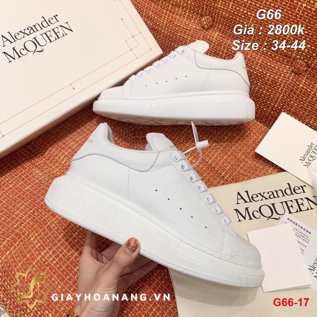 G66-17 Alexander Mcqueen giày thể thao siêu cấp