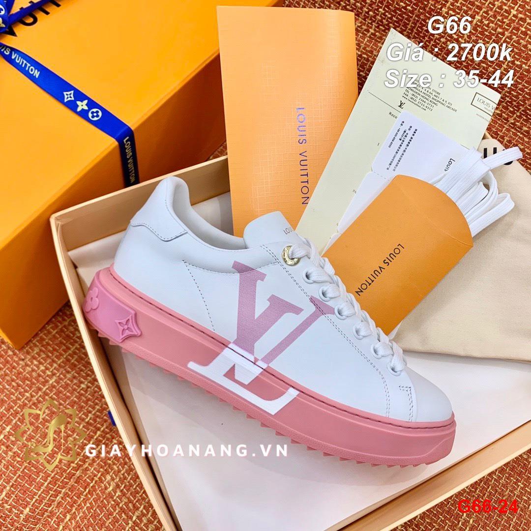 G66-24 Louis Vuitton giày thể thao siêu cấp
