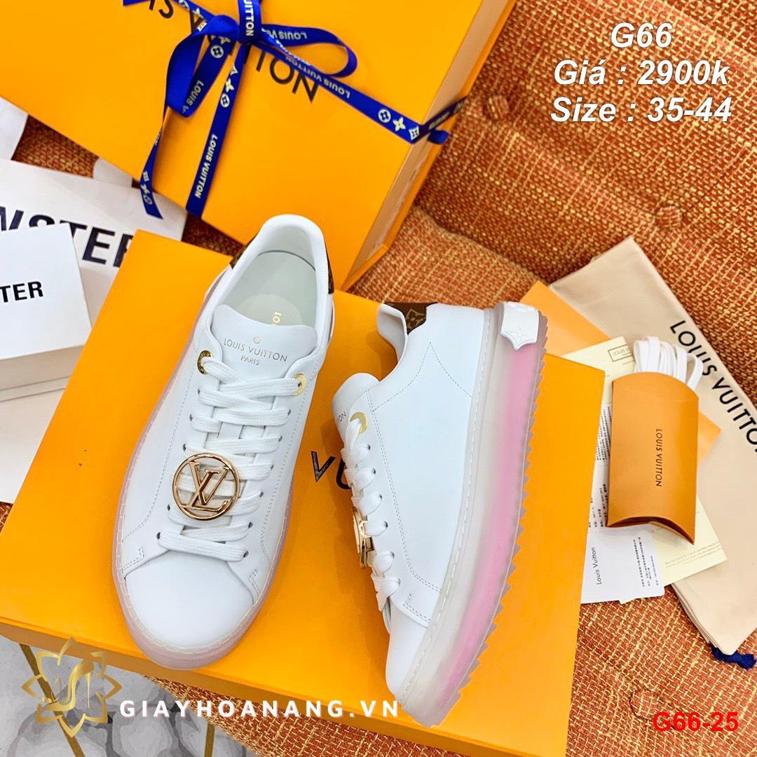 G66-25 Louis Vuitton giày thể thao siêu cấp