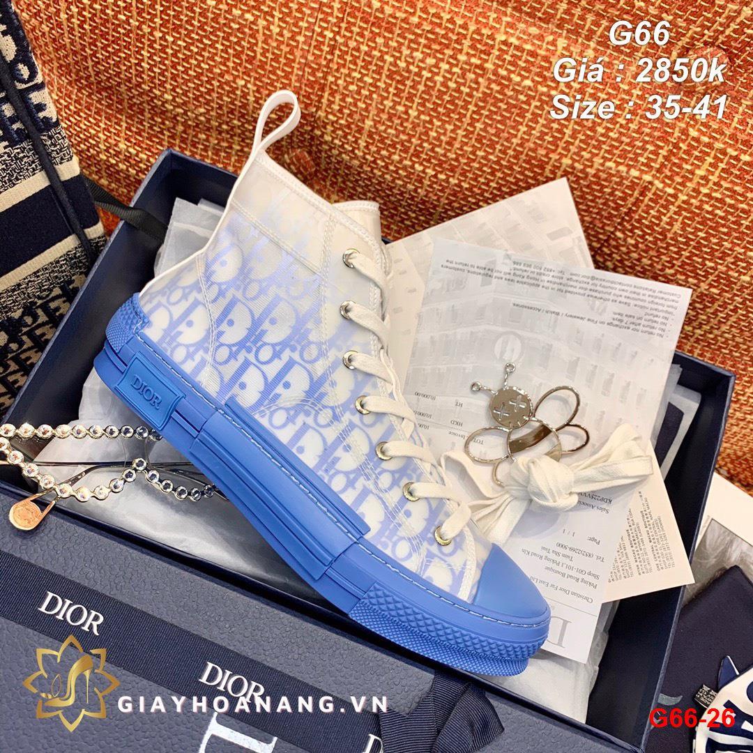 G66-26 Dior giày thể thao siêu cấp