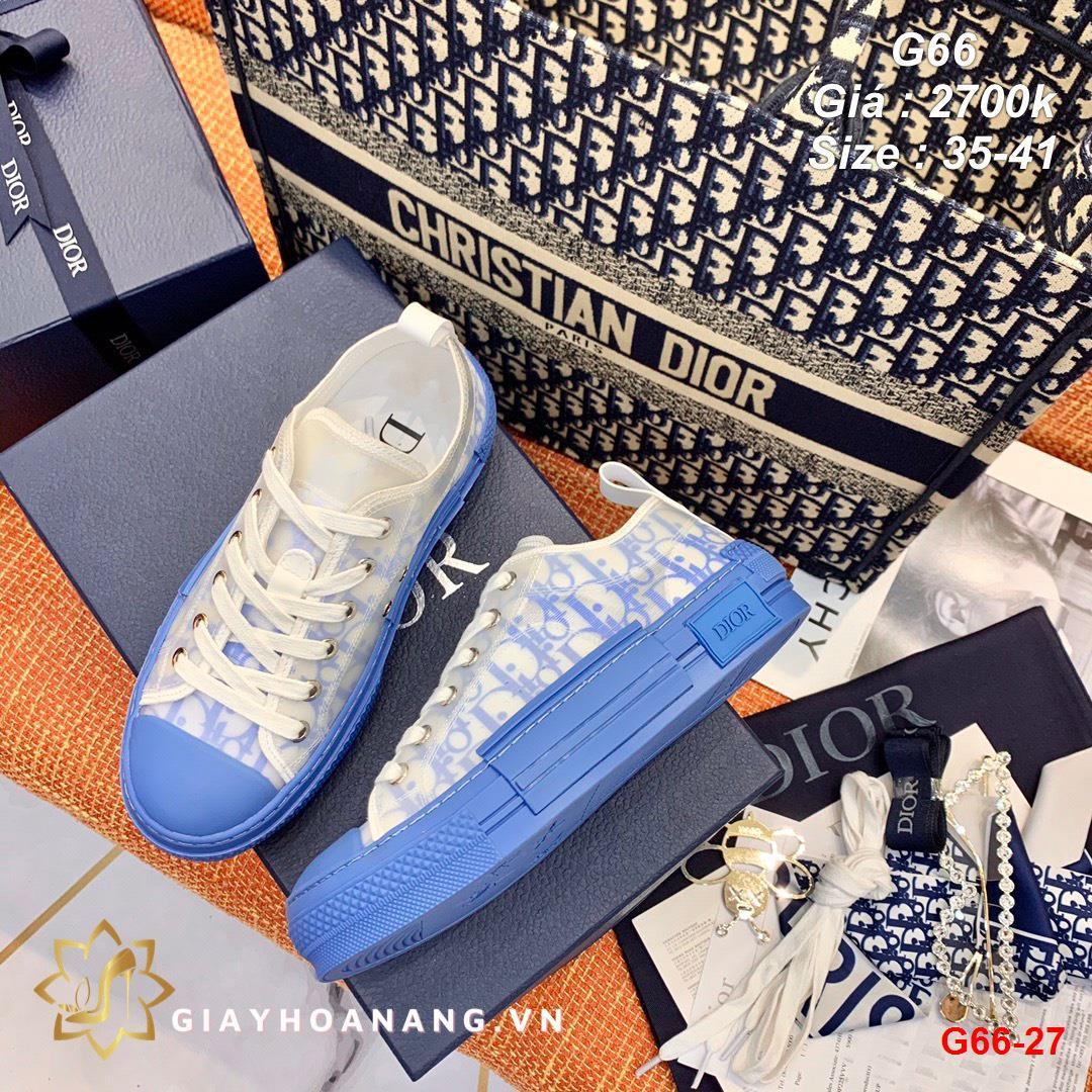 G66-27 Dior giày thể thao siêu cấp