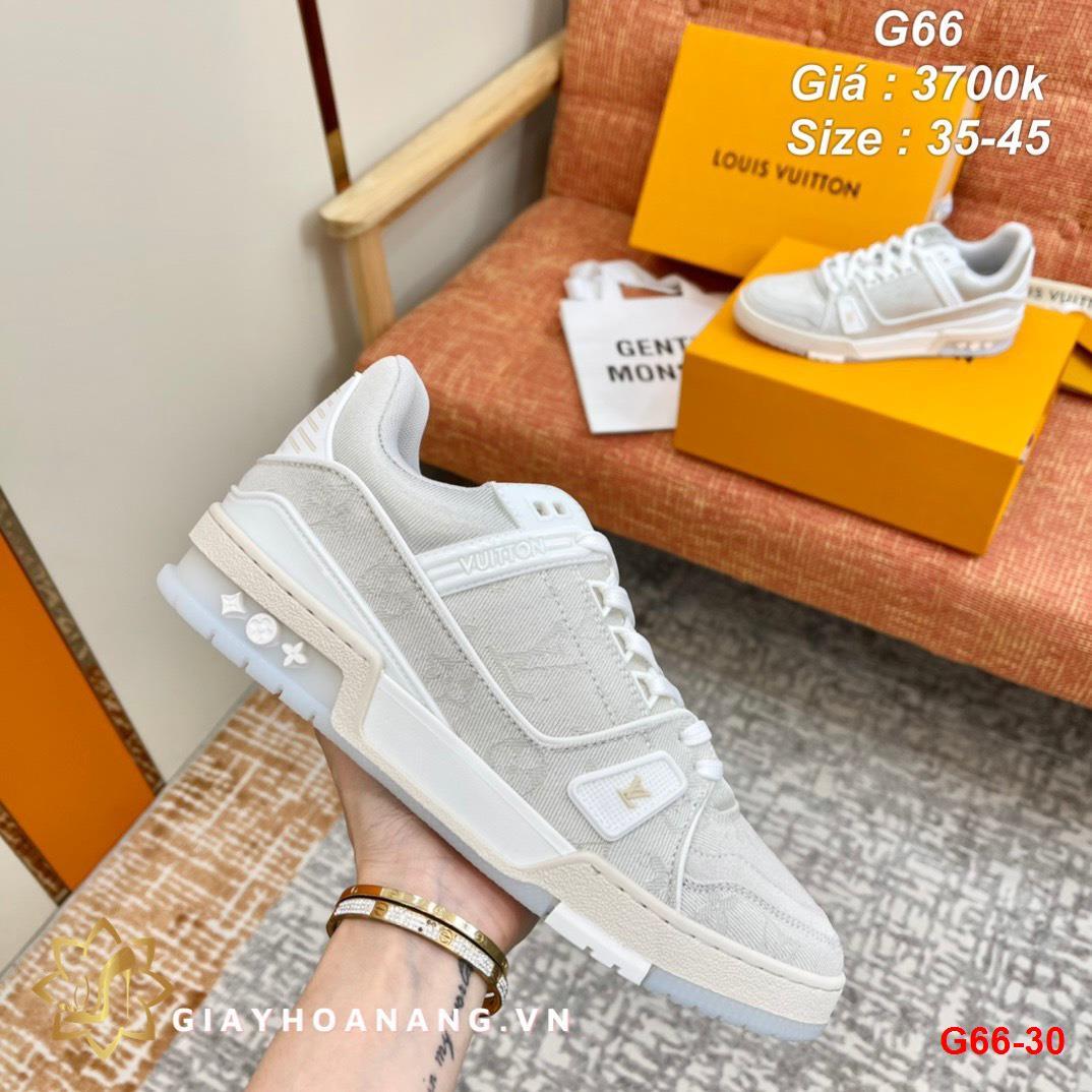 G66-30 Louis Vuitton giày thể thao siêu cấp