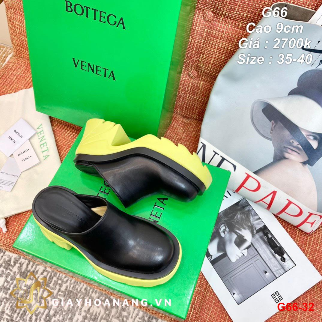 G66-32 Bottega Veneta dép sục cao 9cm siêu cấp