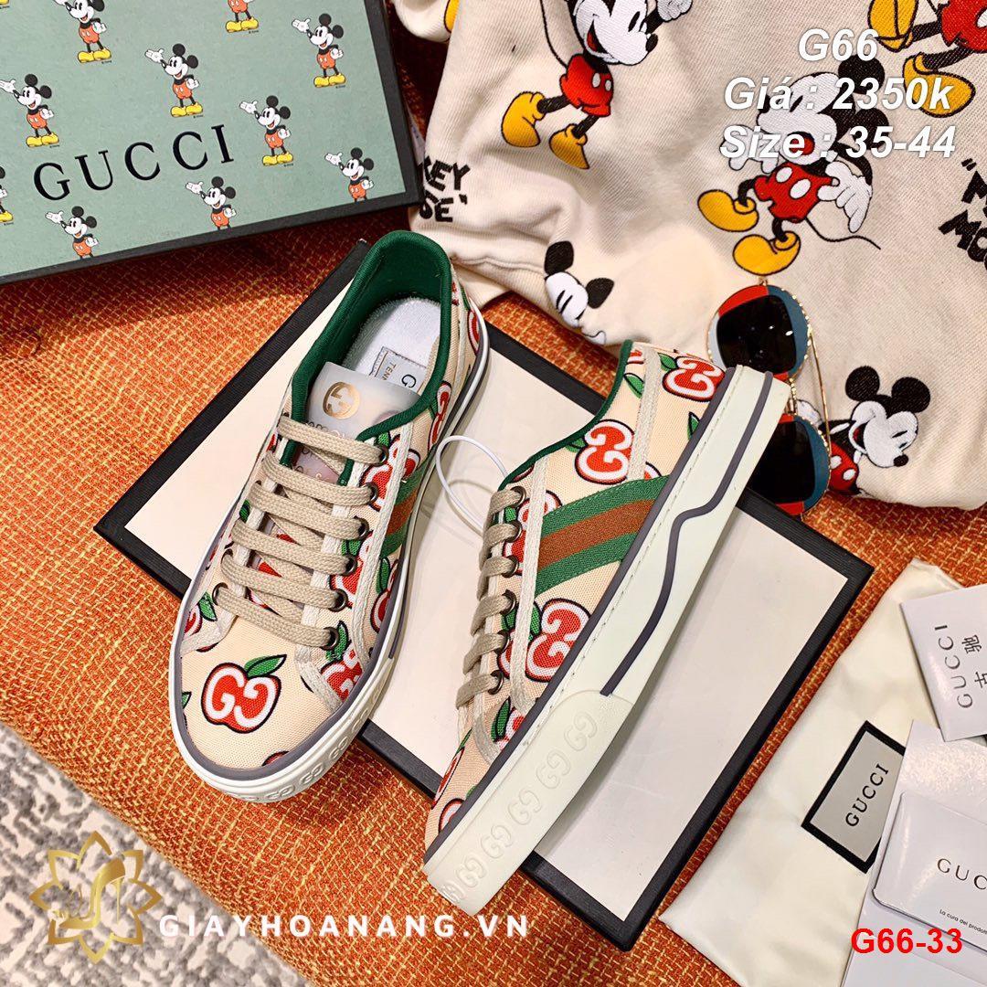 G66-33 Gucci giày thể thao siêu cấp