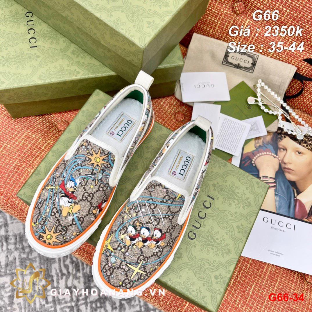 G66-34 Gucci giày lười siêu cấp