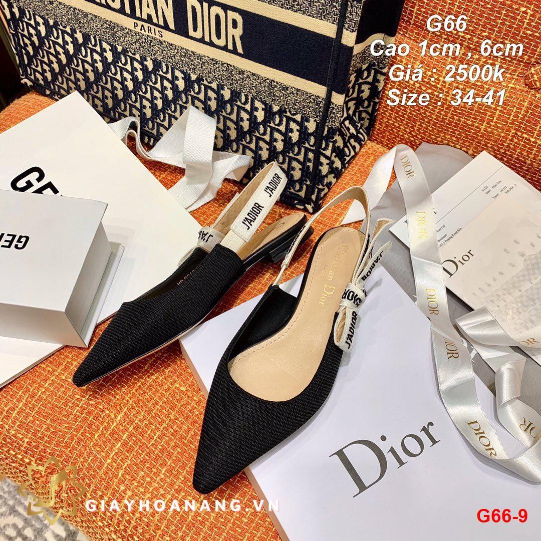 G66-9 Dior sandal cao 1cm , 6cm siêu cấp